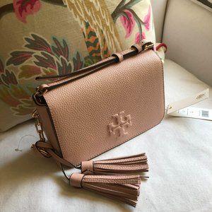 🌷 NEW Tory Burch Pink THEA Mini Crossbody Bag